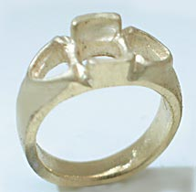 14k gold ring setting